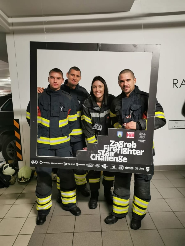 Zagreb Firefighter Stair Challenge